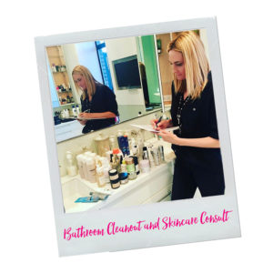 Beauty Beyond Bathroom Cleanout and Skincare Consult